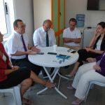 Kıbrıs Türk Ticaret Odası'nın, yenilemeyi üstlendiği Güzelyurt Sağlık Merkezi'nin acil servisinde çalışmaların tamamlanması üzerine, Sağlık Bakanı Filiz Besim KTTO'ya teşekkür etti