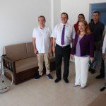 18 Temmuz 2018 - Kıbrıs Türk Ticaret Odası'nın, yenilemeyi üstlendiği Güzelyurt Sağlık Merkezi'nin acil servisinde çalışmaların tamamlanması üzerine, Sağlık Bakanı Filiz Besim KTTO'ya teşekkür etti
