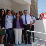 18 Temmuz 2018 - Kıbrıs Türk Ticaret Odası'nın, yenilemeyi üstlendi Güzelyurt Sağlık Merkezi'nin acil servisinde çalışmaların tamamlanması üzerine, Sağlık Bakanı Filiz Besim KTTO'ya teşekkür etti