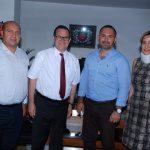 """31 Temmuz 2018 - Kıbrıs Türk Ticaret Odası Yönetim Kurulu'nun """"toplumsal uzlaşı"""" arayışları çerçevesinde aldığı karar doğrultusunda başlattığı çalışmalar neticesinde Kıbrıs Türk Amme Memurları Sendikasını ziyaret etti."""