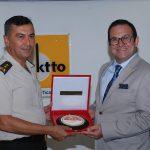 25 Temmuz 2018 - Kıbrıs Türk Barış Kuvvetleri Komutanı Tümgeneral Yılmaz Yıldırım, Kıbrıs Türk Ticaret Odası'na iade-i ziyarette bulundu.