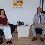 25 Temmuz 2018 - Kıbrıs Türk Orta Eğitim Öğretmenler Sendikası, Kıbrıs Türk Ticaret Odası'nı ziyaret etti